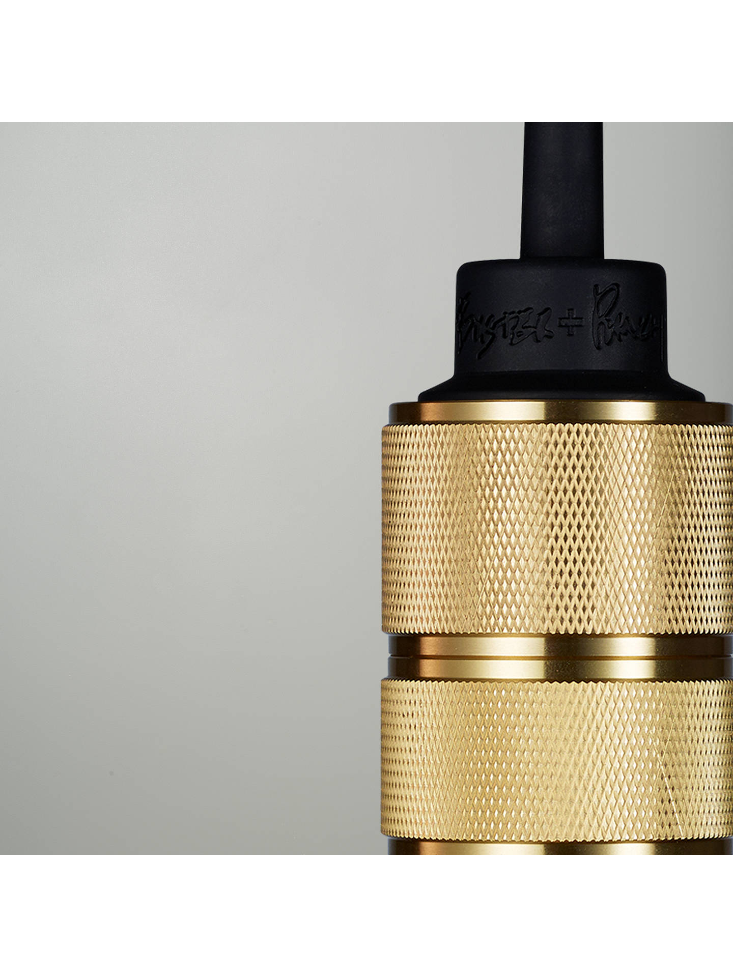 BuyBuster + Punch Hooked 3.0 Nude Cluster Ceiling Light, Brass Online at johnlewis.com