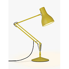Buy Anglepoise Type 75 Margaret Howell Edition Desk Lamp, Yellow Ochre Online at johnlewis.com