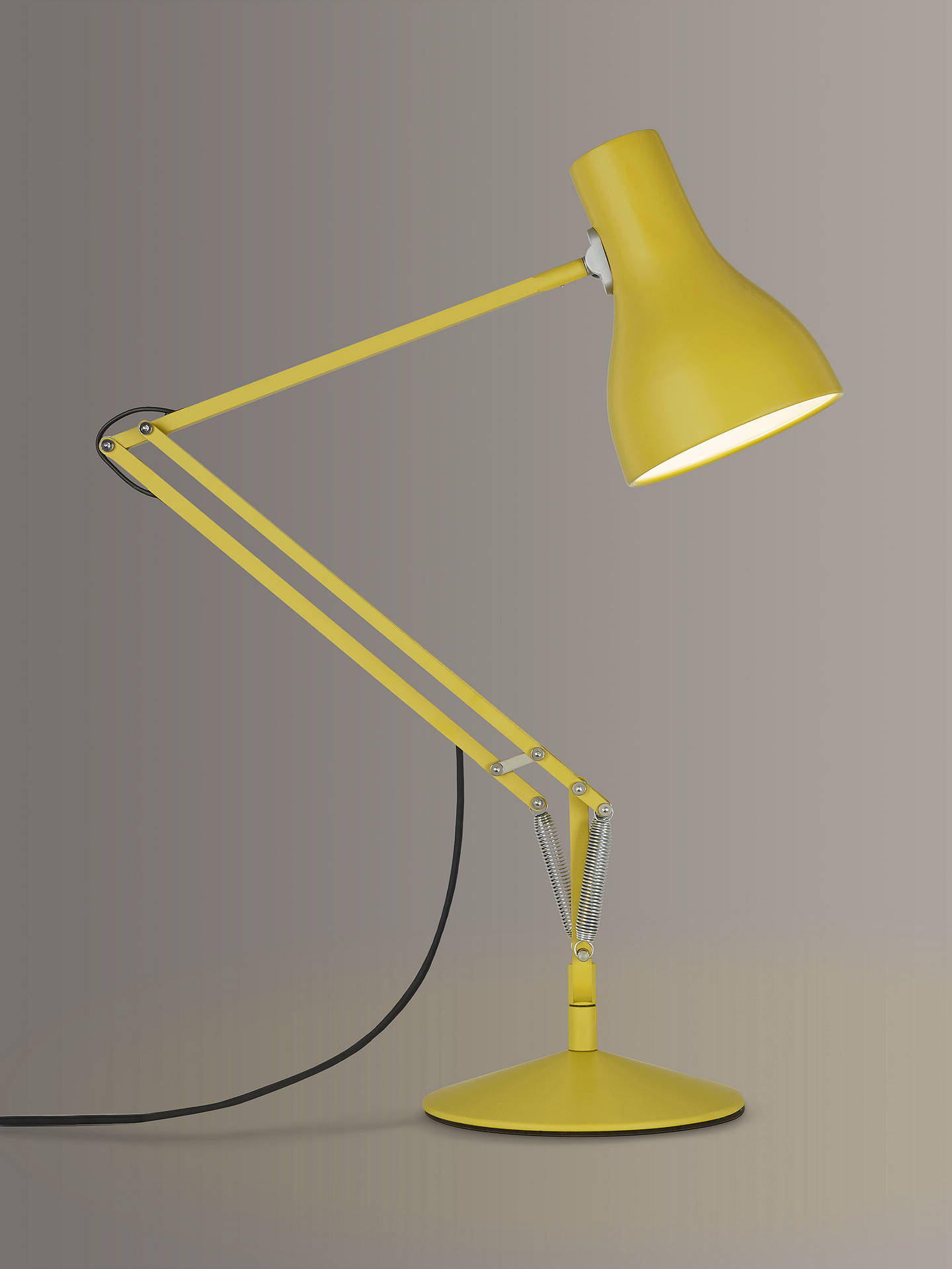 BuyAnglepoise Type 75 Margaret Howell Edition Desk Lamp, Yellow Ochre Online at johnlewis.com