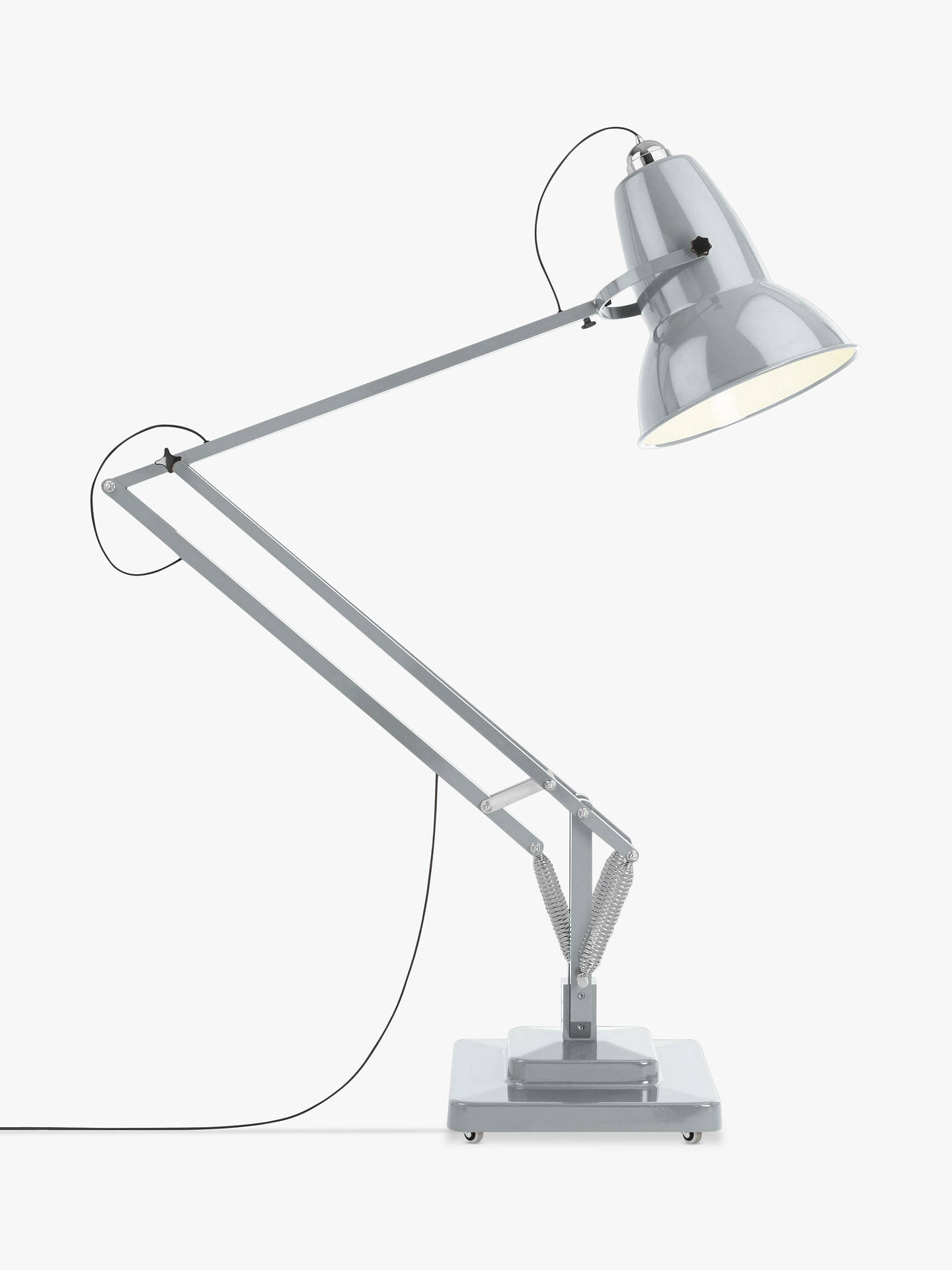 Anglepoise 1227 Giant Floor Lamp, Dove Grey at John Lewis ...