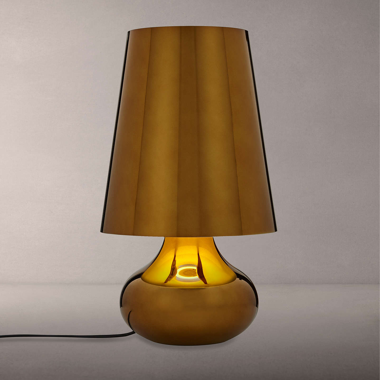 Kartell Cindy Table Lamp Dark Gold At Johnlewis Com