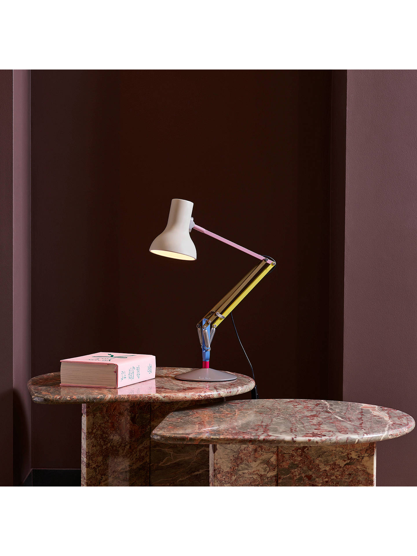 BuyAnglepoise + Paul Smith Type 75 Mini Desk Lamp, Edition 1 Online at johnlewis.com