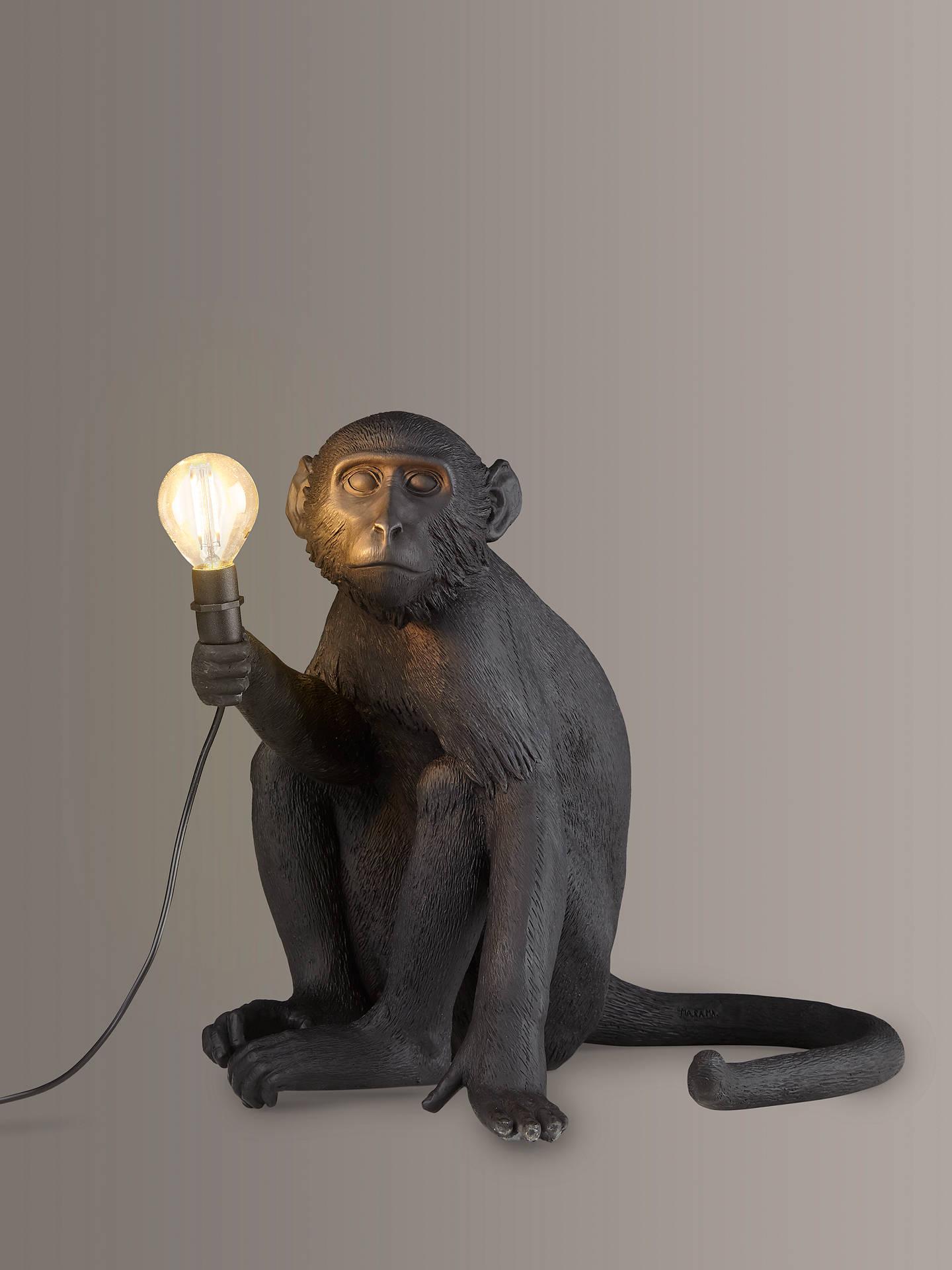 Table LampBlack Seletti Monkey Table Sitting Monkey Sitting Seletti qVpSzMU