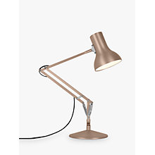 Buy Anglepoise Type 75 Mini Metallic Desk Lamp Online at johnlewis.com