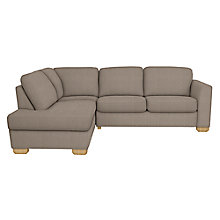 Buy John Lewis Cooper LHF Corner Chaise End, Light Leg Online at johnlewis.com