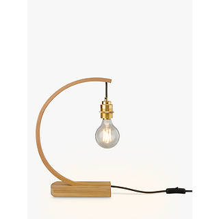 Table lamps designer lighting john lewis tom raffield hanter table lamp oak aloadofball Images