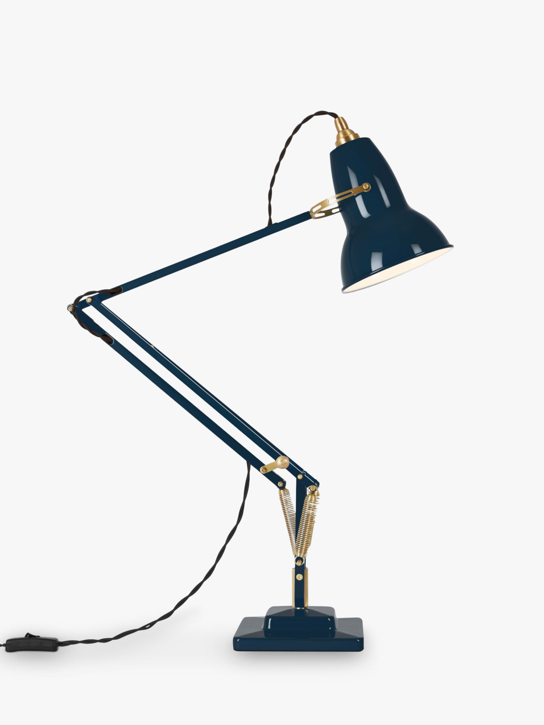 Anglepoise Anglepoise 1227 Desk Lamp, Ink / Brass