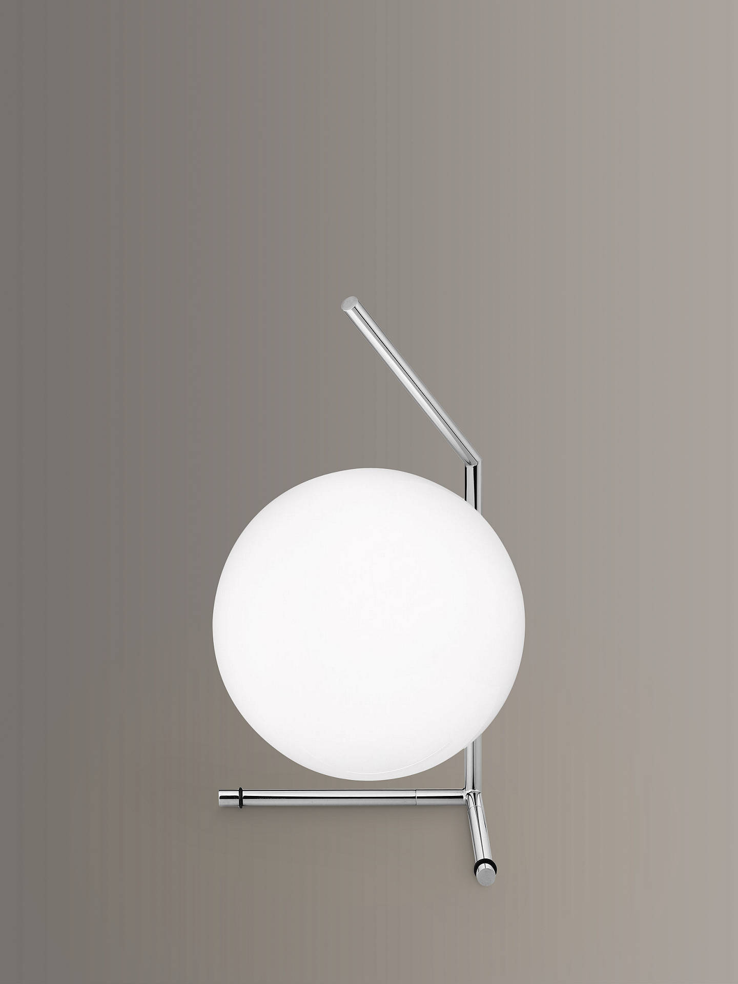 BuyFlos IC T1 Low Table Lamp, 20cm, Polished Chrome Online at johnlewis.com