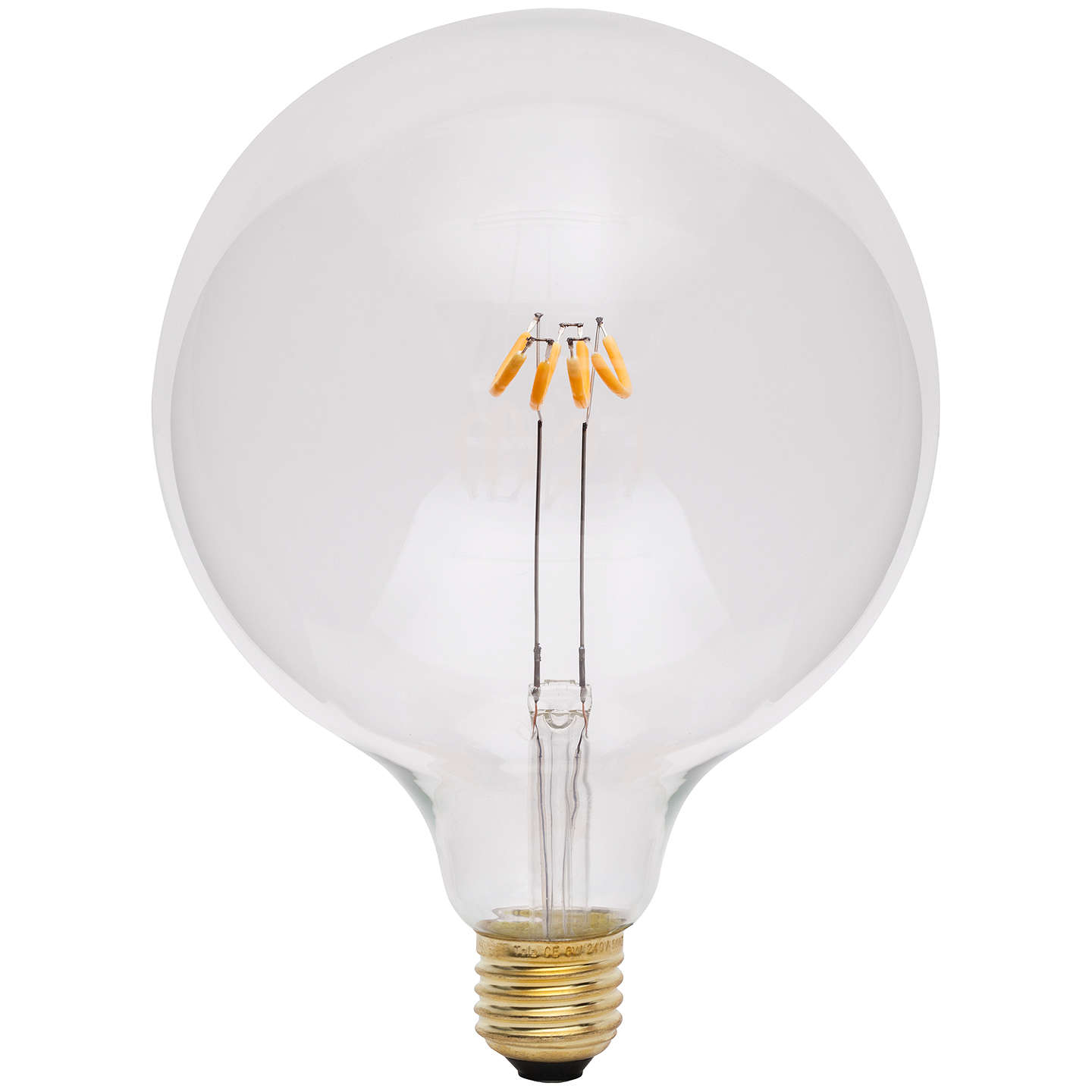 BuyTala LED Unum 3W ES LED Globe Bulb, Clear, Dimmable Online at johnlewis.com