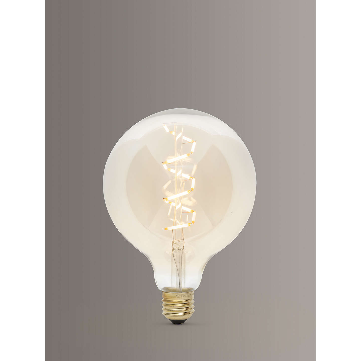 BuyTala LED Zion 6W LED ES Globe Bulb, Tinted / Clear, Dimmable Online at johnlewis.com