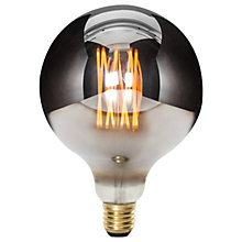 Buy Tala LED Minerva 6W LED ES Globe Bulb, Chrome, Dimmable Online at johnlewis.com