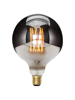 Tala LED Minerva 6W LED ES Globe Bulb, Chrome, Dimmable