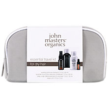 Buy John Masters Essential Travel Kit For Dry Hair Online at johnlewis.com
