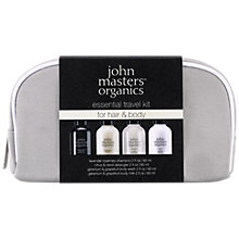 Buy John Masters Essential Travel Kit For Hair & Body Online at johnlewis.com