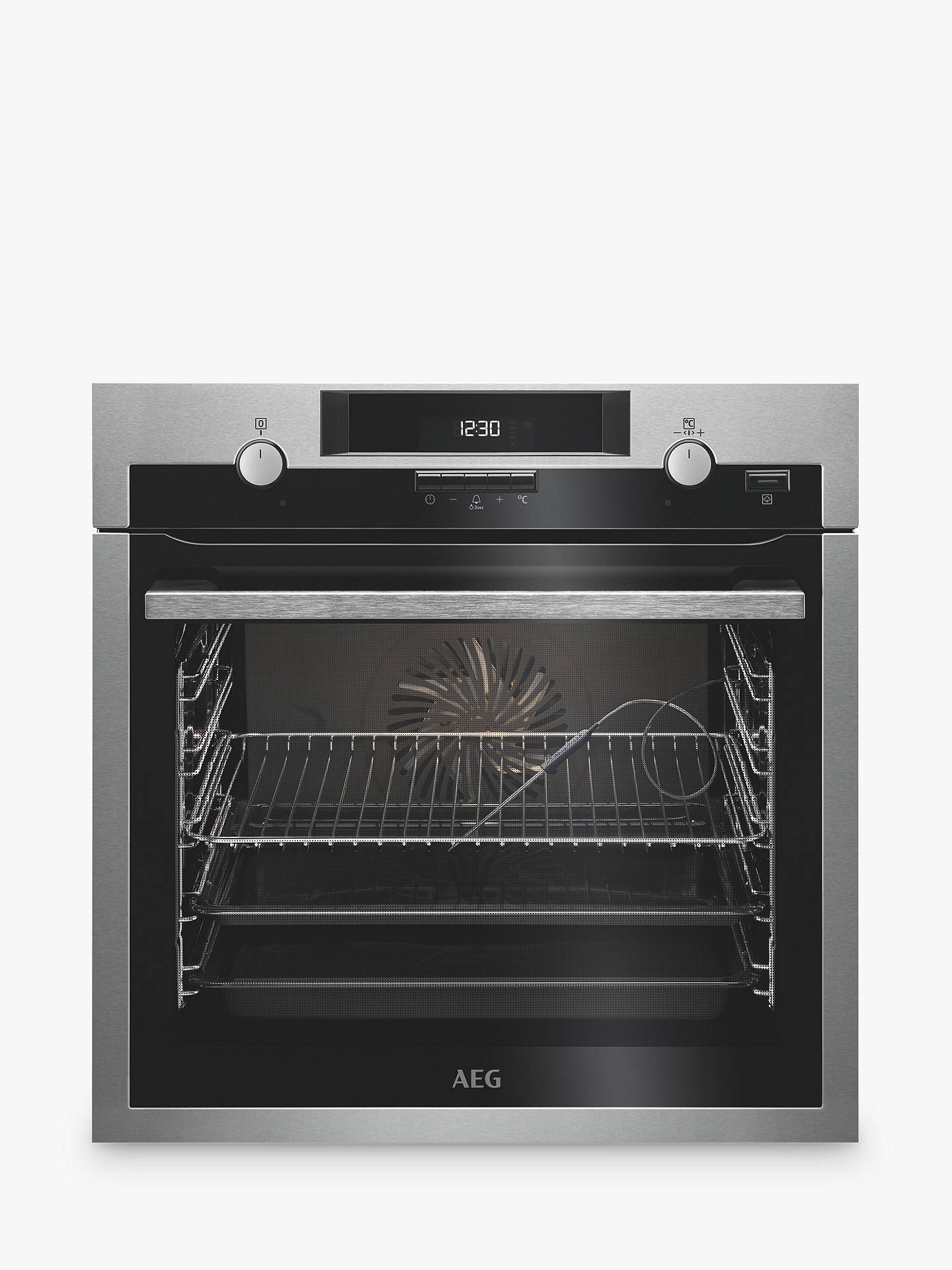 Buy AEG BCS552020M Built-In Single Multifunction SteamBake Electric Oven, Stainless Steel Online at johnlewis.com