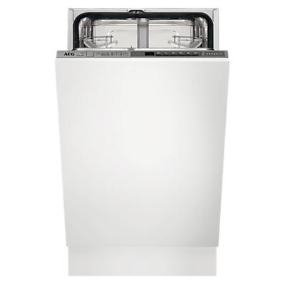 Image of AEG FSS63400P 9 Place Slimline Fully Integrated Dishwasher
