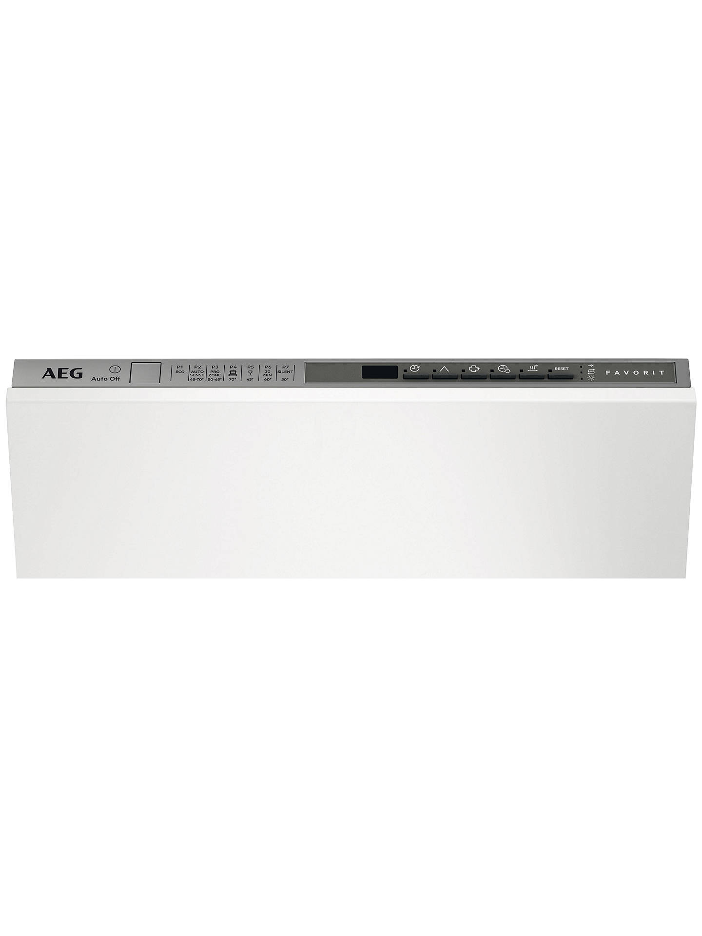 BuyAEG FSS63400P Integrated Dishwasher, Stainless Steel Online at johnlewis.com