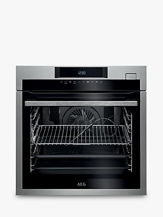 AEG BSE782320M Multifunction Single Oven with Steam, Stainless Steel