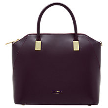 Buy Ted Baker Abbeyy Leather Small Tote Bag Online at johnlewis.com