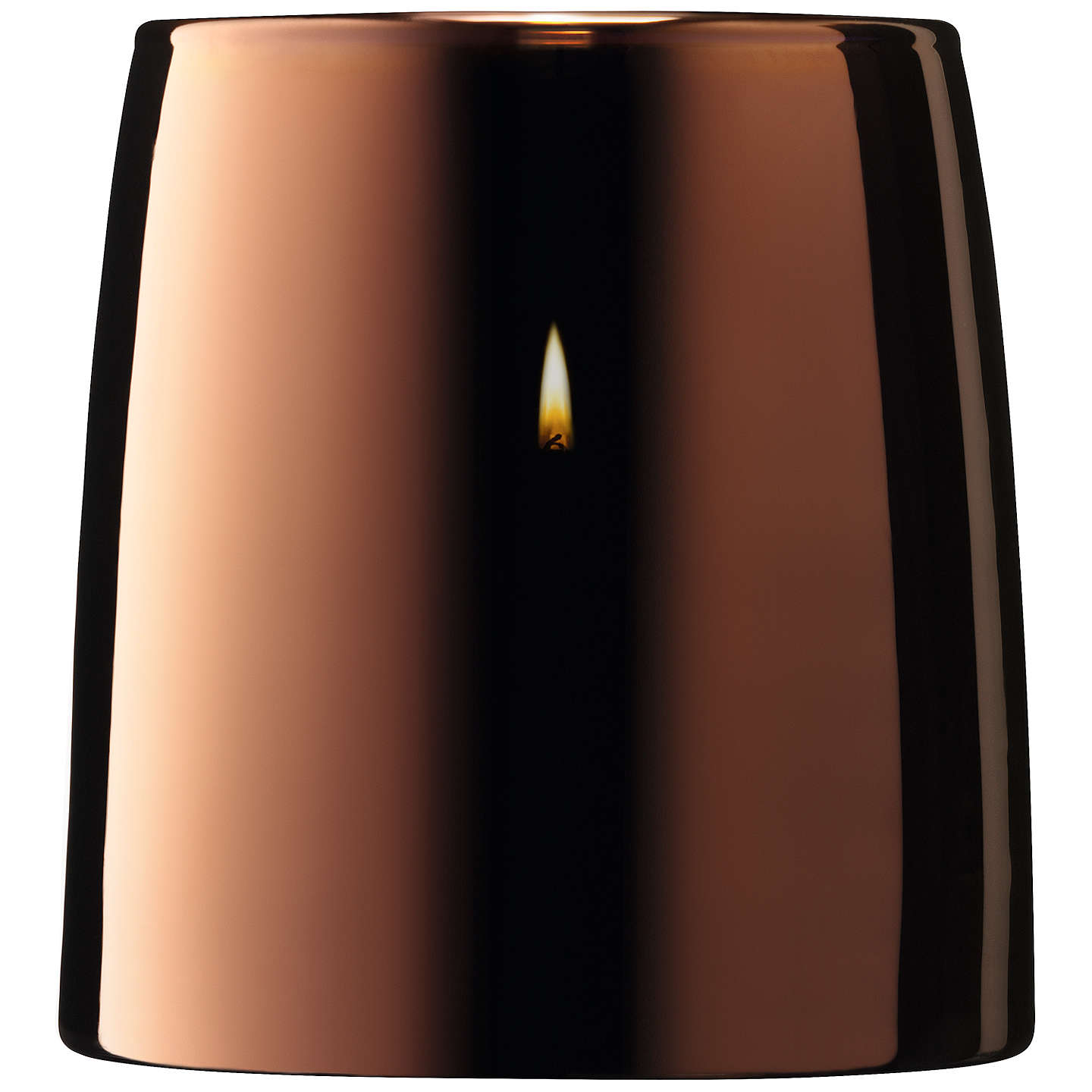 BuyLSA International Metallic Storm Lantern, Copper Online at johnlewis.com