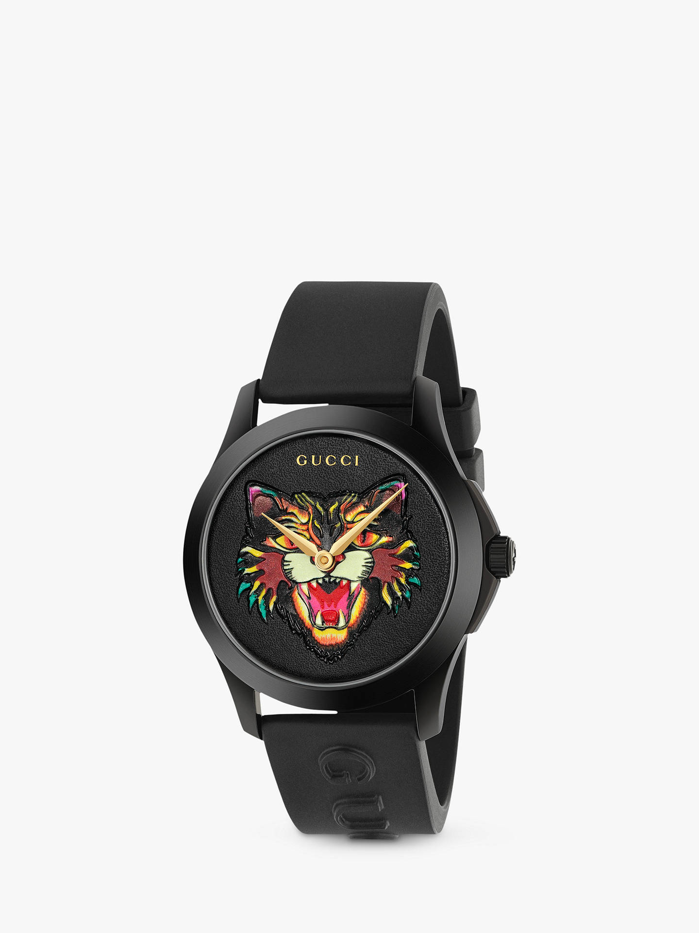 2c75ed4ed25 Buy Gucci YA1264021 Unisex G-Timeless Rubber Strap Watch