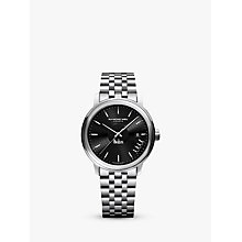 Buy Raymond Weil 2237-ST-BEAT2 Men's Maestro The Beatles Abbey Road Limited Edition Date Bracelet Strap Watch, Silver/Black Online at johnlewis.com