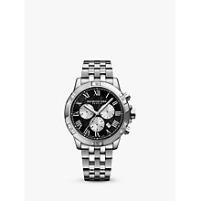 Buy Raymond Weil 8560-ST00206 Men's Tango Chronograph Date Bracelet Strap Watch, Silver/Black Online at johnlewis.com