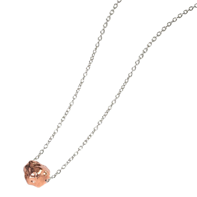Matthew calvin small meteorite pendant necklace at john lewis buymatthew calvin small meteorite pendant necklace silverrose gold online at johnlewis aloadofball Image collections