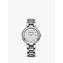 Buy Raymond Weil 5391-SPS000995 Tango Women's Bracelet Watch, Silver Gold Online at johnlewis.com