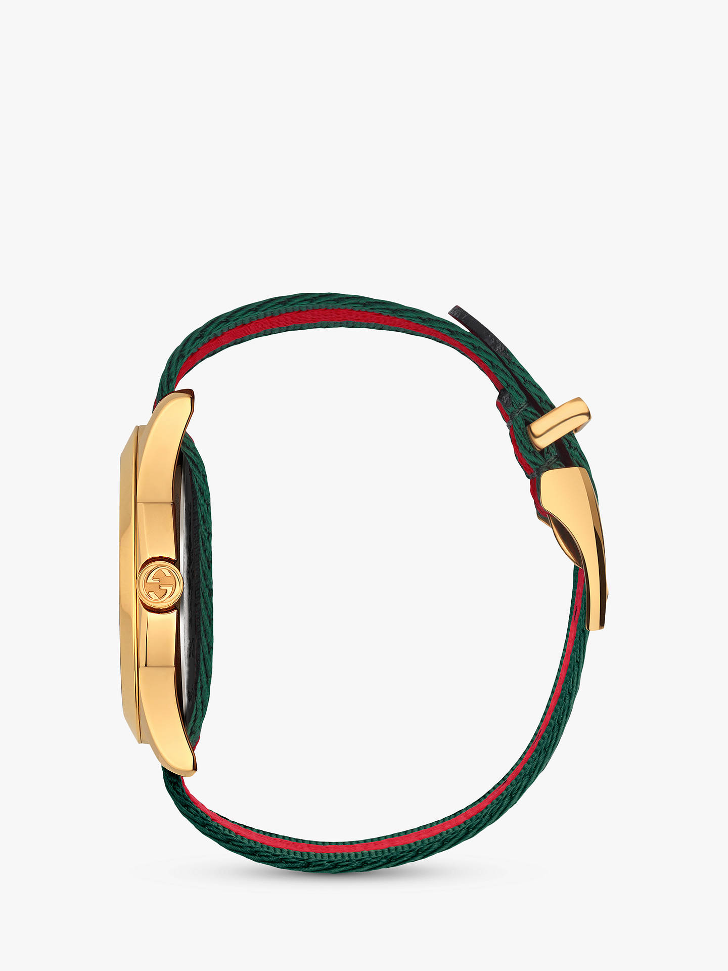 5ba5be3d65b ... Buy Gucci YA126487 Unisex Le Marché des Merveilles Fabric Strap Watch