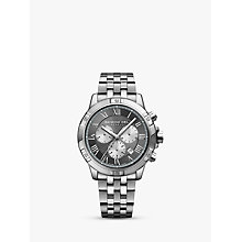 Buy Raymond Weil 8560-ST00606 Men's Tango Chronograph Date Bracelet Strap Watch, Silver/Grey Online at johnlewis.com