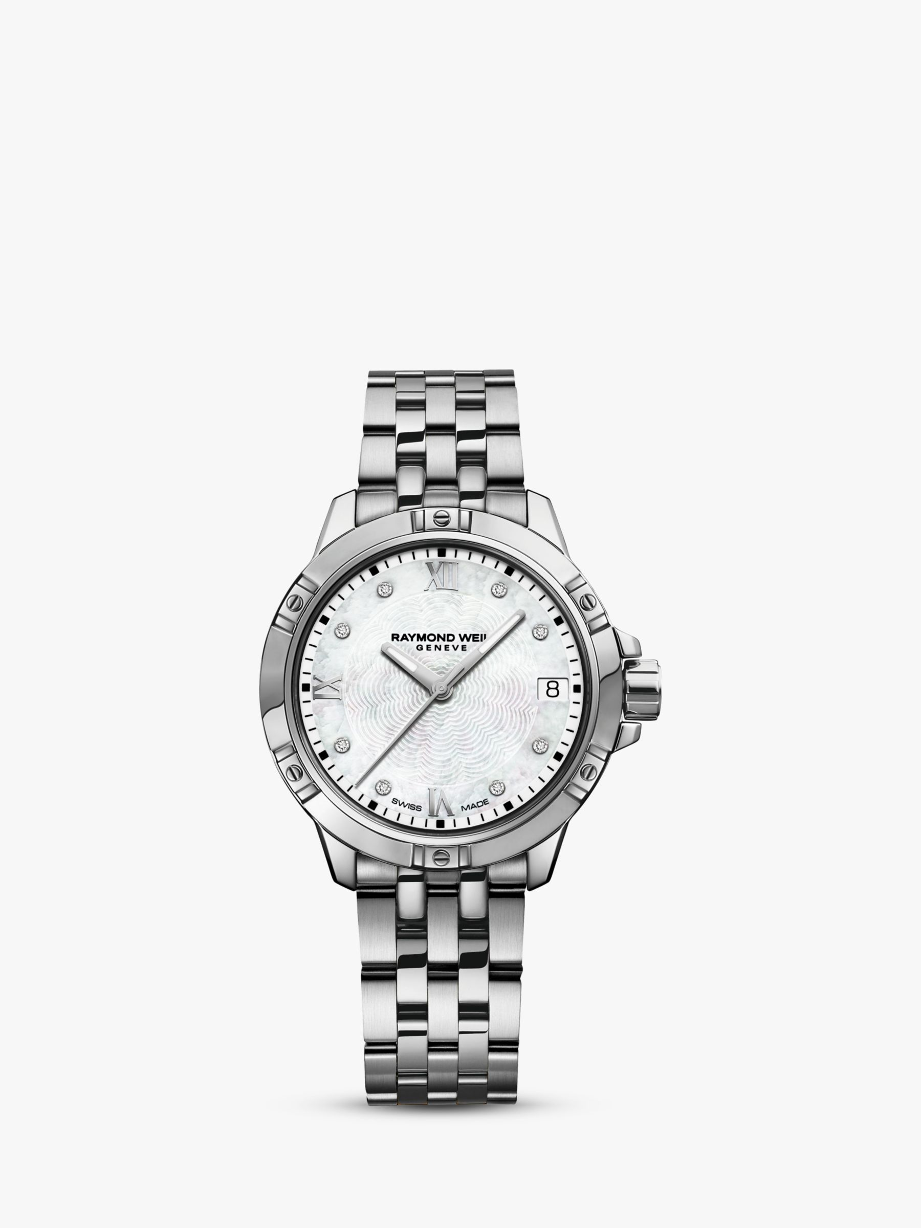 Raymond Weil Raymond Weil 5960-STP00995 Women's Crystal Bracelet Strap Watch, Silver