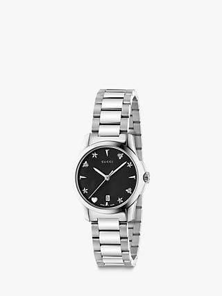 b02e4e48d4f Gucci YA126573 Women s G-Timeless Date Bracelet Strap Watch