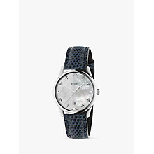 Buy Gucci G-Timeless Women's Guilloche Bracelet Watch Online at johnlewis.com