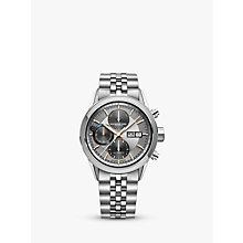Buy Raymond Weil 7731-ST120621 Men's Freelancer Automatic Chronograph Day Date Bracelet Strap Watch, Silver Online at johnlewis.com