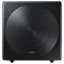 Buy Samsung SWA-W700 Wireless Subwoofer with Distortion Cancelling, Black Online at johnlewis.com
