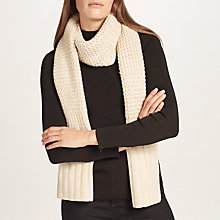 Buy UGG Textured Merino Wool Blend Scarf Online at johnlewis.com