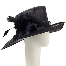Buy John Lewis Mila Side Up Occasion Hat, Black Online at johnlewis.com