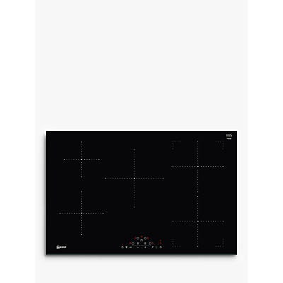 Image of NEFF T48FD23X0 Electric Induction Hob - Black, Black