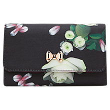 Buy Ted Baker Jajaa Kensington Floral Clutch Bag, Black Online at johnlewis.com