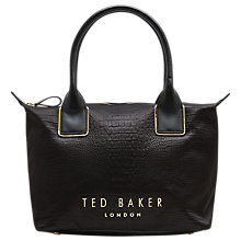 Buy Ted Baker Zetaa Exotic Small Tote Bag Online at johnlewis.com
