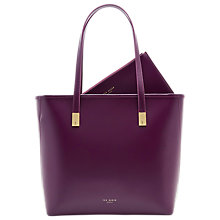 Buy Ted Baker Chelsey Leather Large Shopper Bag Online at johnlewis.com