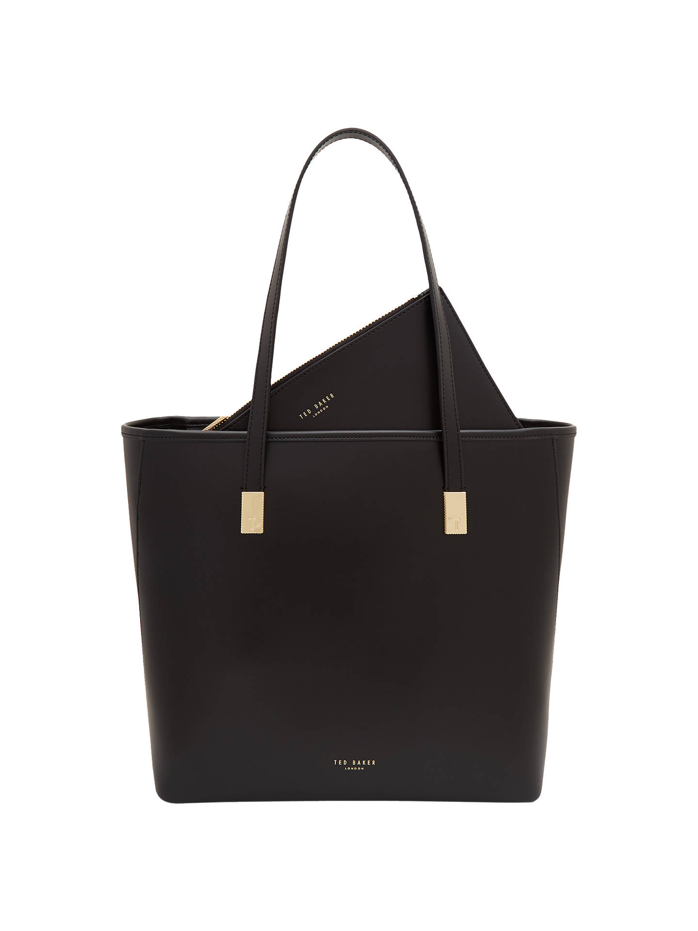 8fd6ee6b0 Ted Baker Chelsey Leather Large Shopper Bag at John Lewis   Partners