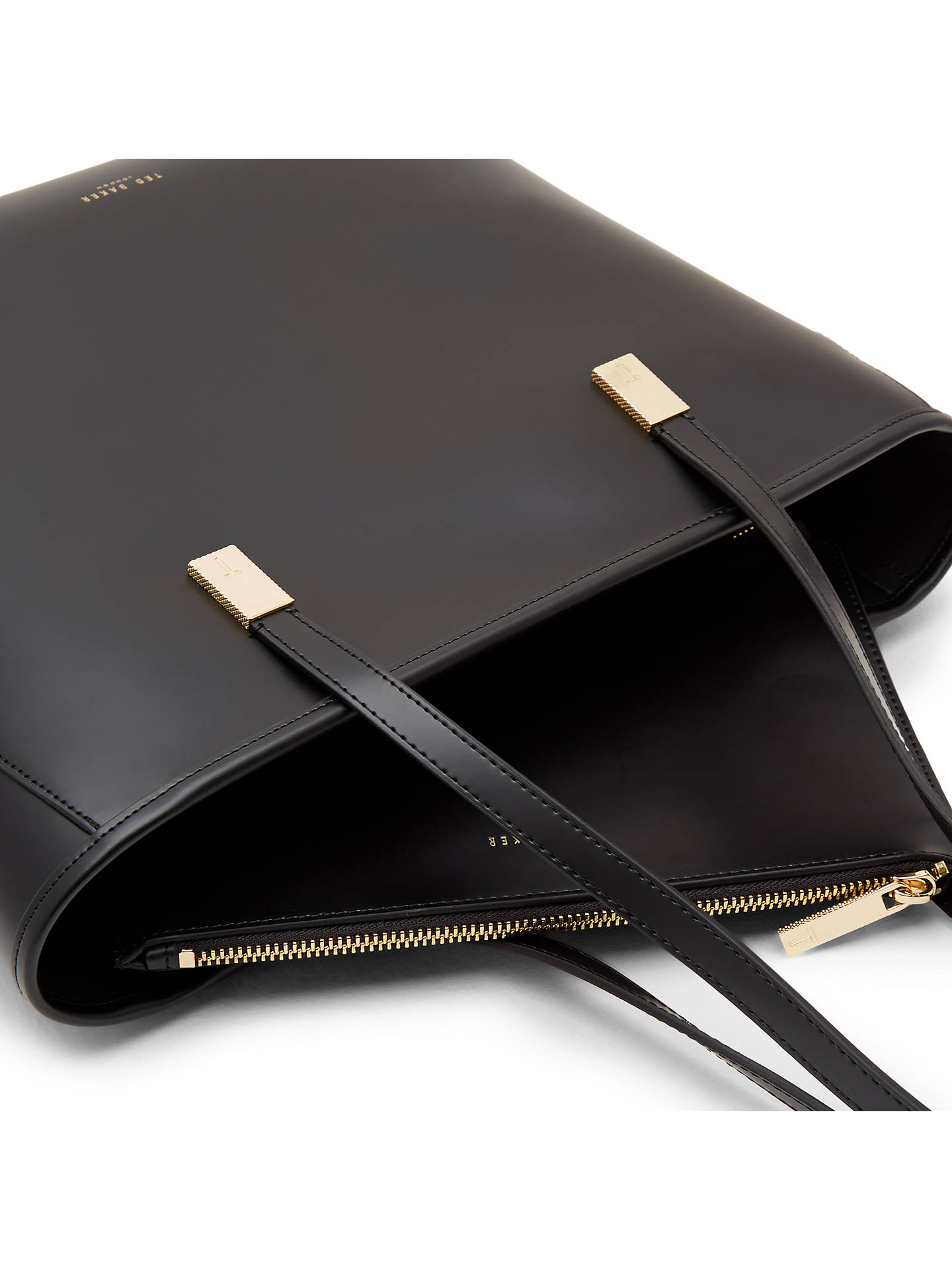 0c036bcf7b0d Ted Baker Chelsey Leather Large Shopper Bag at John Lewis   Partners