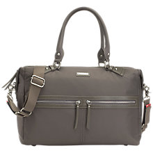 Buy Storksak Caroline Nylon Changing Bag, Slate Grey Online at johnlewis.com