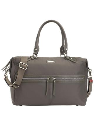 Storksak Caroline Nylon Changing Bag, Slate Grey
