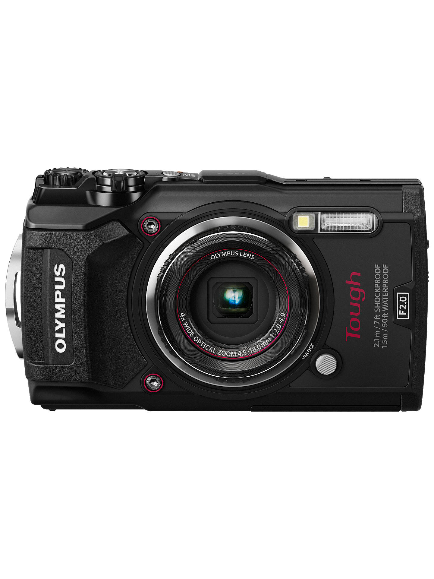 Olympus Digital Camera 5 Olympus Tough TG-5 GPS Waterproof, Freezeproof, Shockproof, Dustproof  Compact Digital Camera, 12MP, 4K UHD, 4x Optical Zoom, Wi-Fi, RAW Shooting,  ...