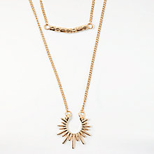 Buy Pieces Nohr Necklace, Gold Online at johnlewis.com