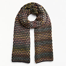 Buy Numph Oroblanco Scarf, Phantom Online at johnlewis.com