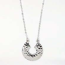 Buy Pieces Nevada Necklace, Silver Online at johnlewis.com